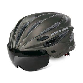 GUB K80 Cycling Helmet with Visor Magnetic Goggles Integrally-molded 58-62cm for Men Women MTB Road Bicycle  Bike Helmet 8