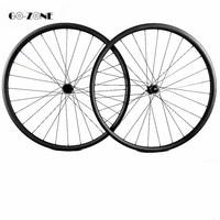 Bicicleta aro 29 rodas de bicicleta de montanha assimétrico xc 27.4x23mm sem câmara com dt240s shiman0/xd 12 velocidade mtb disco rodas carbono|Roda de bicicleta| |  -