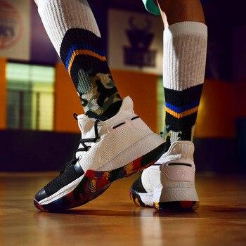 Zapatos informales De malla para Hombre, zapatillas De baloncesto con suela De...