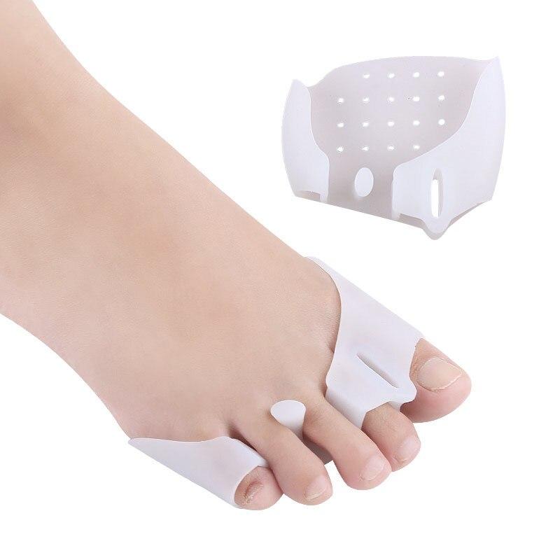 Новинка, 2 шт./компл., корректор, защита для пальцев ног, силиконовый фиксатор для большого пальца, защита от вальгусной деформации, средства ...