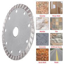 115mm 4.52 Diamond Cutting Disc Corrugated Sheet Blade For Stone Brick Concrete Tile