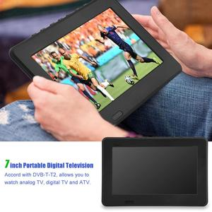 Image 1 - LEADSTAR 7inch DVB T T2 16:9 HD Digital Analog Portable TV Color Television Player for Home Car for EU Plug