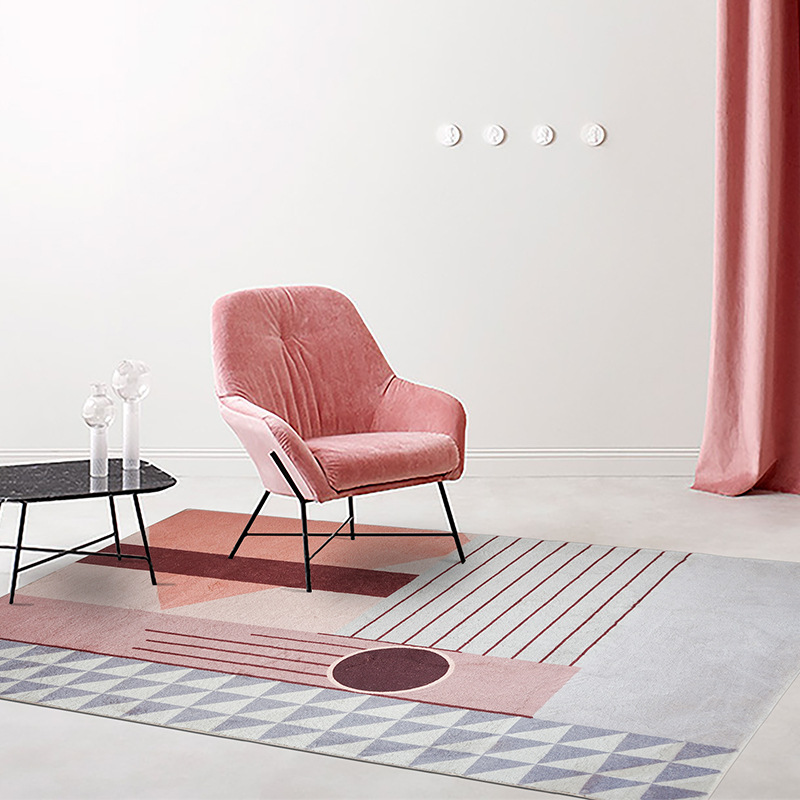 Tapis pour salon tapis et tapis pour la maison salon tapis moelleux tapis tapis chambre enfants tapis pour salon tapis rose