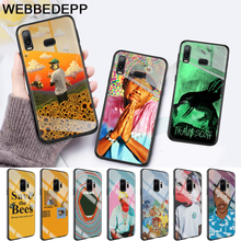 tyler the creator Glass Case for Samsung S7 Edge S8 S9 S10 Plus A10 A20 A30 A40 A50 A60 A70 Note 8 9 10Note 10