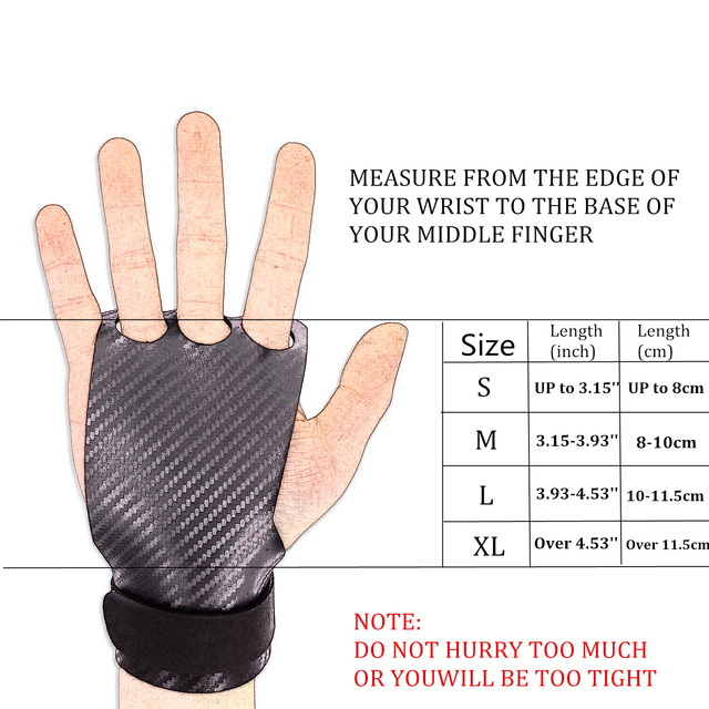 Fitness Weight Lifting Gloves  3