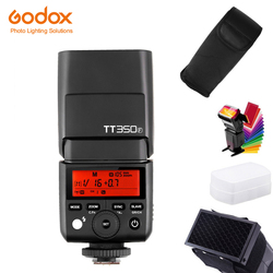 Godox TT350F Mini lampa błyskowa Speedlite do Fujifilm X-T30 X-T3 X-T4 XT20 TTL HSS GN36 1/8000S bezprzewodowy nadajnik wyzwalacza systemu