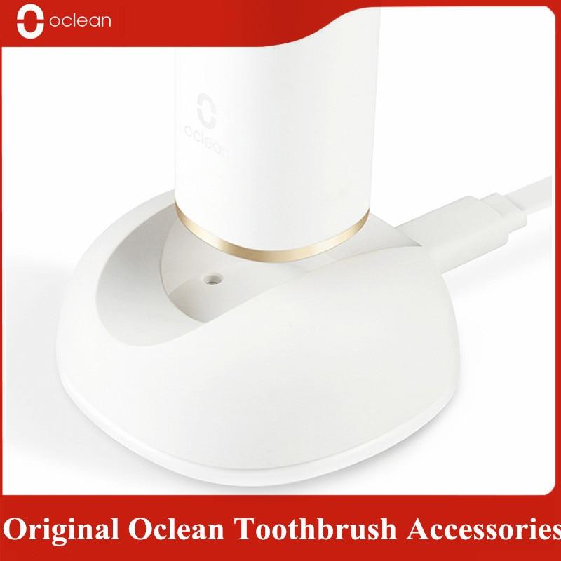 Ev Aletleri'ten Elektrikli Diş Fırçaları'de Oclean X/Z1 2 in 1 tasarım elektrikli diş fırçası şarj standı manyetik duvar tutucu montaj askı raf için Oclean x/Z1 diş fırçası title=
