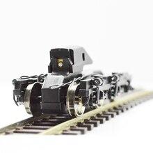 лучшая цена Train Ho 1:87 Scale Model Train Universal Train Undercarriage accessories hassis Bogie Building Kits DIY accessories Hot Sale