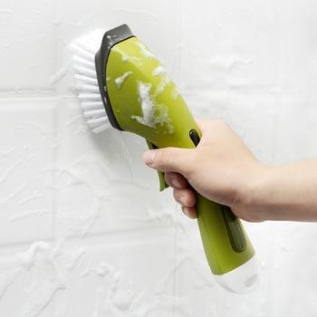 Sink Floor Cleaning Tools Kitchen Multi-Function Long Handle Cleaning Brush Automatic Liquid Washing Dish Brushes palmolive ultra antibacterial orange dish washing liquid 10oz