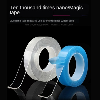 Nano Magic Tape Transparent Magic Tape Strong TikTok Transparent NoTrace Reusable Waterproof Adhesive Tape double sided tape image