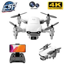 Nowy V9 Mini Drone 4k zawód HD szerokokątny aparat 1080P WiFi dron fpv podwójny aparat wysokość utrzymać drony aparat zabawki-helikoptery cheap CEVENNESFE CN (pochodzenie) Z tworzywa sztucznego About 80 metrts 12 5*13*3 5cm Mode1 15 days Silnik szczotki 3 7V 4D-V9