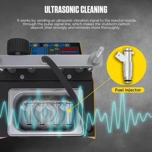 Image 5 - AUTOOL CT150 voiture injecteur de carburant testeur nettoyage Machine moto injecteur nettoyeur Test ultrasons essence Auto outil 110V 220V