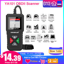Ediag YA101 OBD2 Car Diagnostic Tool OBDII Auto Scanner Check Engine Light graph data stream PK ELM327 CR3001 AS100 Code Reader