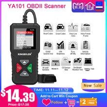 اديج YA101 OBD2 سيارة أداة تشخيص OBDII السيارات الماسح الضوئي تحقق ضوء المحرك الرسم البياني تيار البيانات PK ELM327 CR3001 AS100 رمز القارئ