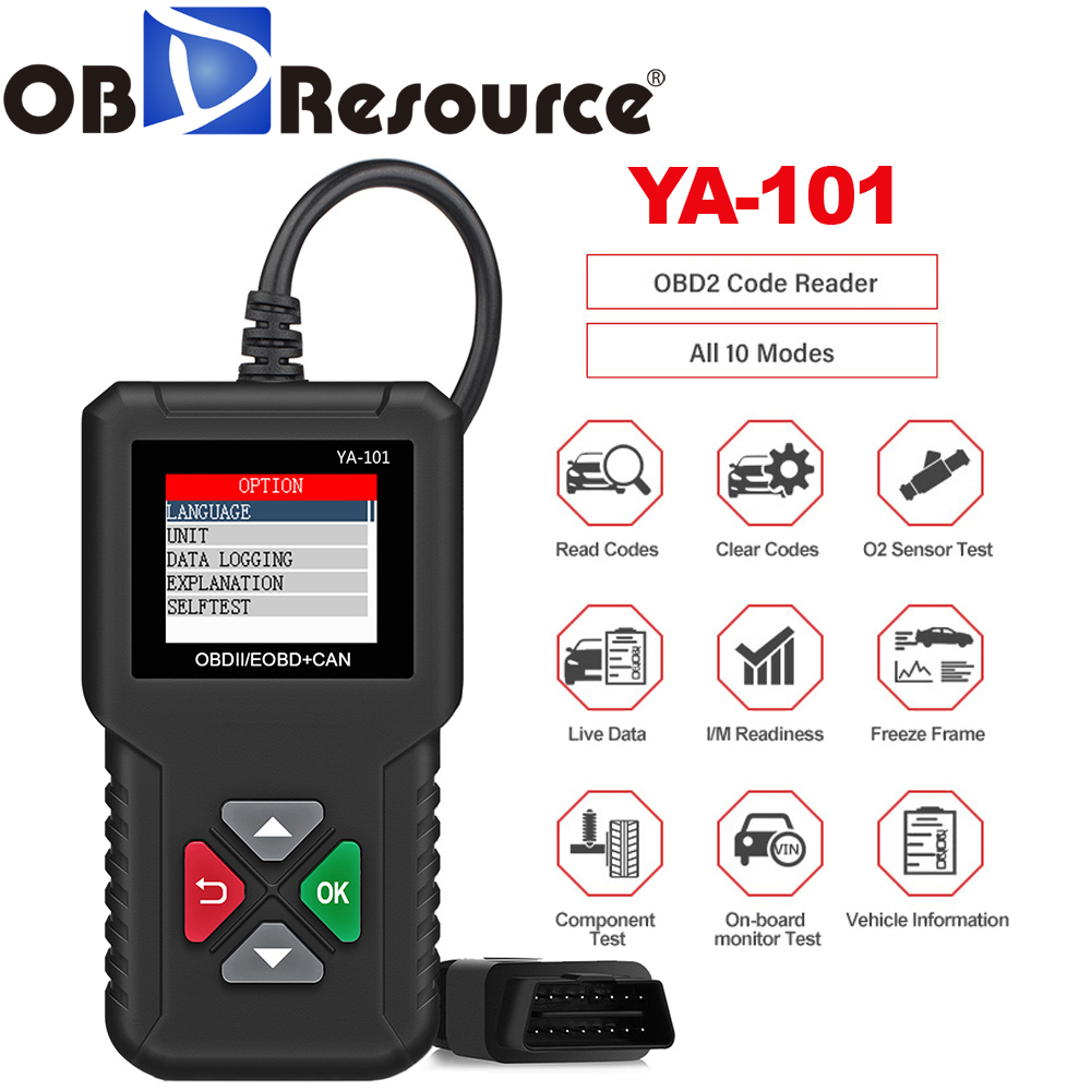 Scanner Engine Light Clear Wireless OBD2 Code Reader for Ford S-Max