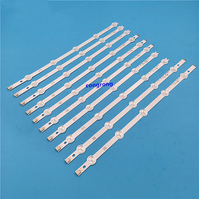10pcs / Set Backlight Array LED Strip Bar LG 42LN540V 42LN613V 42LA620V LC420DUE 42LN575S 42LA620S 42LN540S-R2 6916L-1217A