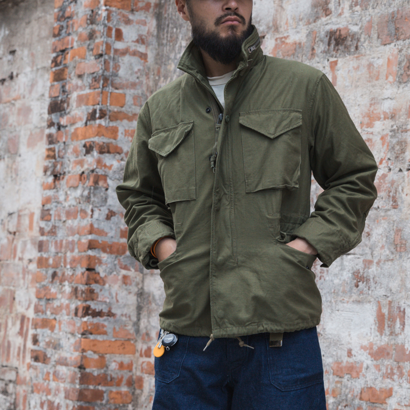Read Description!  Asian Size Bronson Reissue Hand-made Classic M65 US Army Jacket