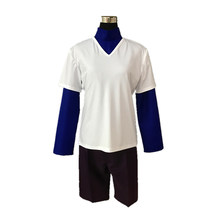 Hunter x hunter killua zoldyck cosplay costume feito