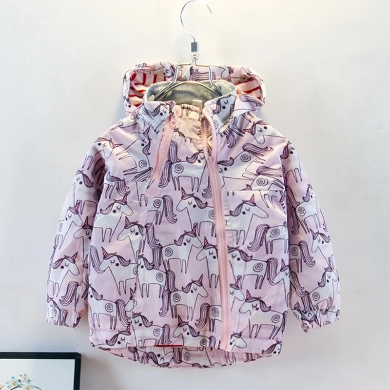 2021 Children Clothing Autumn Toddler Baby Girls Coat Jacket For Girls Hoodies Kids Clothes Windbreaker Outerwear 2 3 5 6 Years
