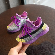 AOGT 2020 Spring New Baby Shoes Knitted Breathable Toddler B