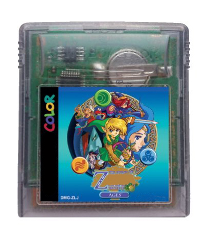 8bit game card : The Legend of Z - Oracle of Ages ( English Language!! Save is ok!! ) image