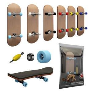 Toy Skate-Set Finger-Skateboard Bearings Christmas-Gift Professional Children Stents