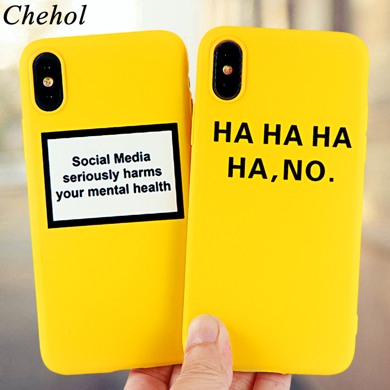 Funny Letter Cell Phone Cases for iPhone 11 6s 7 8 Plus Pro X XS MAX XR Case Fashion Soft Silicone Fitted Back Cover Accessories