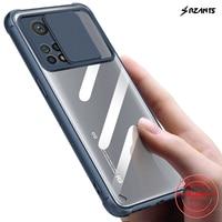 Rzants para Xiaomi Mi 10T Xiaomi MI 10T Pro suave carcasa [Protección de la lente] suave claro caso duro de la cubierta de la cáscara del teléfono