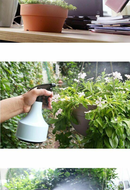 500ML Water Spray Bottle Plastic Flowers Plants Watering Cleaning Garden Tool UK