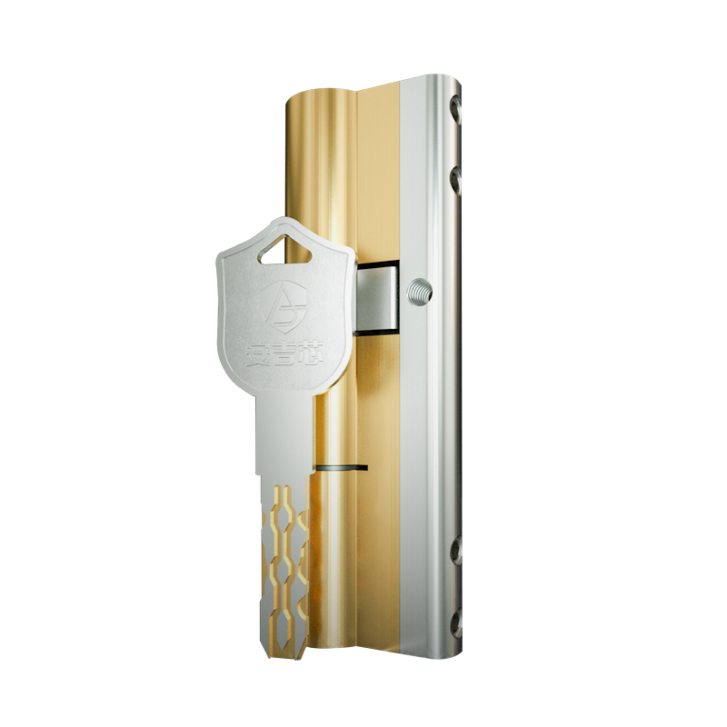 European Style With 10 Keys C Grade Lock Replacement Security Entrance Door Lock Cylinder