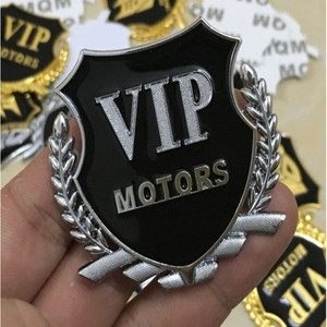 Image 3 - Metal  VIP Transformers 3D Car Sticker Individual  for car auto window tail car body decoration car styling