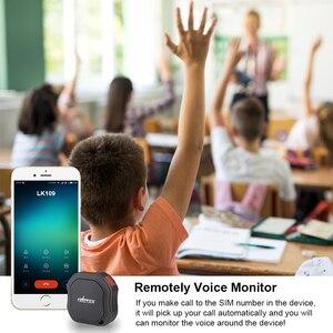 Image 4 - Mini GPS Tracker ส่วนบุคคล Tracker กันน้ำ IP68 LK109 ยาวสแตนด์บาย Real time เด็ก GSM ฟรี Web APP ติดตาม TK1000