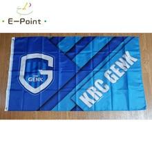 Bélgica krc genk bandeira 2ft * 3ft (60*90cm) 3ft * 5ft (90*150cm) tamanho decorações de natal para bandeira de casa