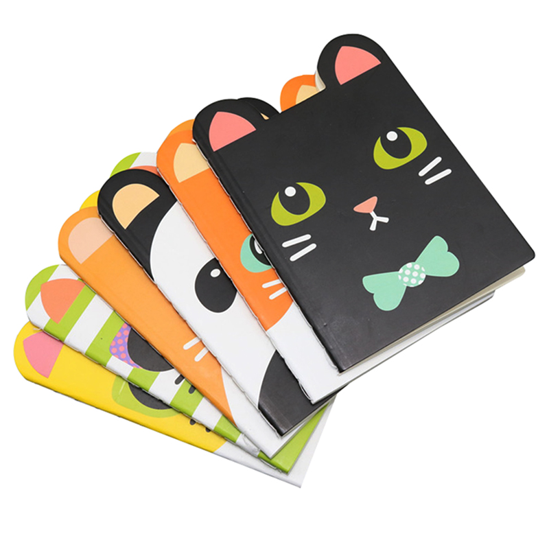 Notebook Travelers Notebook Memo Pad Cute Memo Pad 20 Sheets Of Paper, 40 Pages Size 10 * 8.5cm Student School Office Cat Book