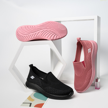 women sneakers flat Casual Comfortable sock shoes Ladies Mesh Non-slip Wear-resistant walking for Women Breathable Casual Shoes siddons women shoes flat breathable mesh platform sneakers women soft comfortable slip on ladies casual flats shoes sock shoes