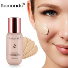 30ml Base Face Liquid Foundation Cream Full Coverage Concealer Oil-control Easy to Wear Soft Face Makeup Foundation imagic base face liquid foundation cream full coverage concealer oil control easy to wear soft face makeup foundation with puff