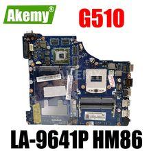 ERILLES VIWGQ / GS LA-9641P материнская плата для ноутбука Lenovo G510 оригинальная материнская плата HM86 PGA947