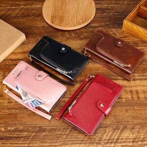 Кожаный чехол-кошелек на молнии для Huawei P30 Pro P30 lite, чехол для Huawei Honor View 20 10 V20 V10 P30 Fundas Euti