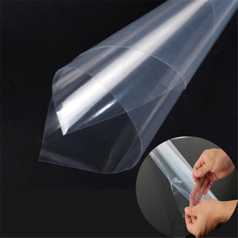 TAMANHO; 50*200 CM/Roll Hot! Carros 3 Camadas PPF Proteção da Pintura Film para Carro Wrapping Veículo Auto adesivo Revestimento Transparente