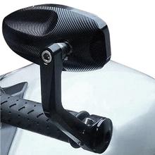 2 sztuk partia lusterka motocyklowe CNC motocykl Bar End czarny lusterko wsteczne dla Triumph Speed Triple akcesoria tanie tanio CN (pochodzenie) Rearview Mirrors Aluminium Lusterka boczne i akcesoria