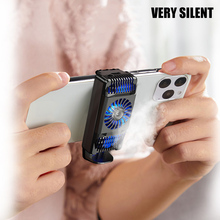 New Hot Mobile Phone Radiator Gaming Universal Phone Cooler Adjustable Portable Fan Holder Heat Sink for Cell Phones