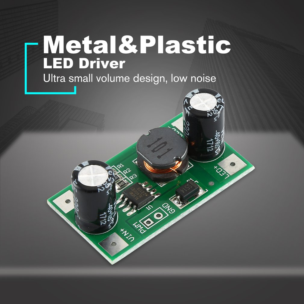 3W/2W LED Driver 700mA PWM Dimming Input 5-35V DC-DC Constant Current Module Buck Power Supply Module For Arduino