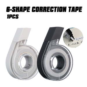 School Correction Tape Office Supplies Roller Office School Supplies Stationery M&G 1pcs / Batch 12M 6-shape ACT54801 36M 5MM