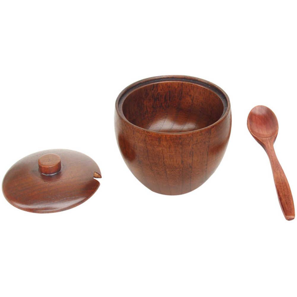 1 قطعة جديد خشبية ملعقة المطبخ أداة الطبخ إناء تخدم ملعقة القهوة الحساء العسل ملعقة الطعام اكسسوارات لوازم المطبخ