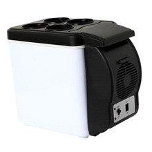 Refrigerador portátil do congelador do refrigerador do carro mais quente mini refrigerador 6l 12v 48w escritório