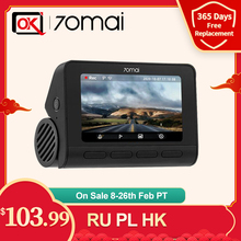 Dash-Cam Parking A800S UHD Video-24h 70mai ADAS In-Stock Sony Imx415 Built-In 4K Real