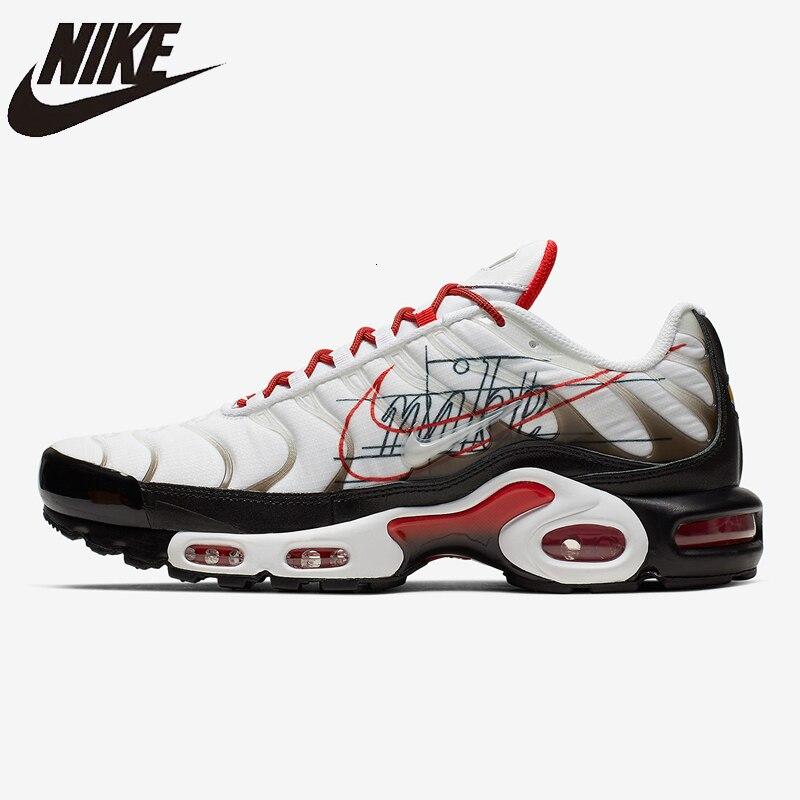 Nike Air Max Tn Plus Original nouveauté hommes chaussures de course coussin d'air Sports de plein Air léger baskets # CK9392-100