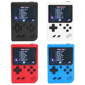 Image 1 - 3 cal Retro FC konsole do gry wbudowany w 400 gry 8 bitowych gier Player Classic podręczne konsole do gier gamepady dropshipping