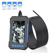 5MM Industrial Inspection Borescope Camera Waterproof Screen Endoscope Signal Dual Lens