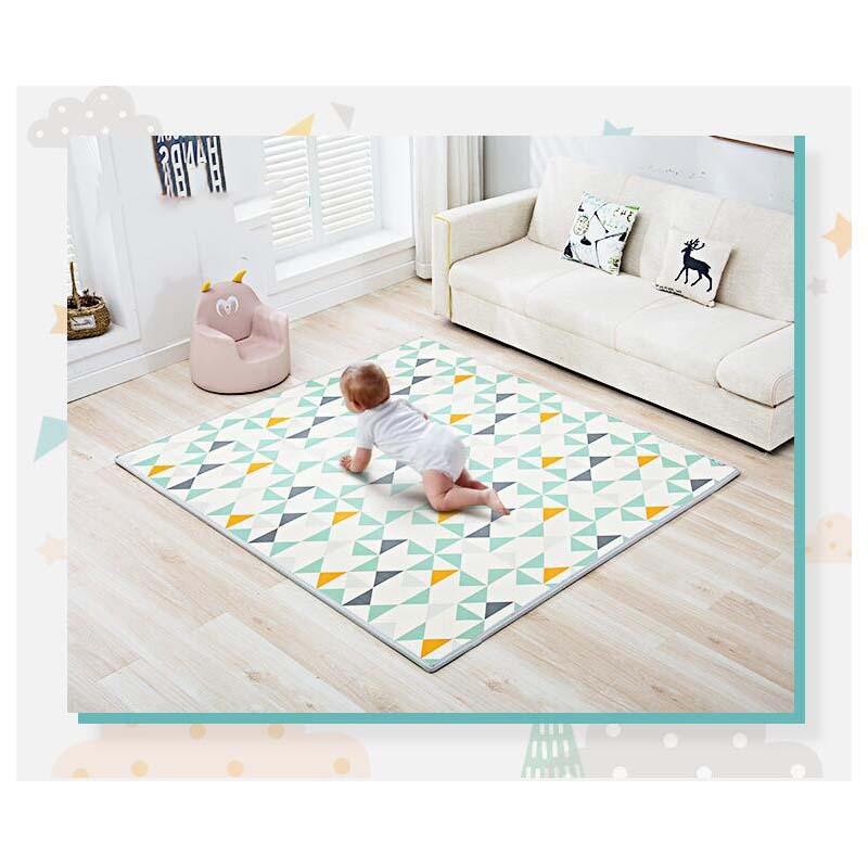 XPE bébé ramper tapis épaississement 200*180*2CM bébé escalade tapis enfants tapis en mousse jeu Pad jouet enfants tapis activité tapis jouets